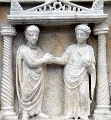 Matrimonio Romano Cristiano : Matrimonio romano wikipedia