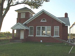 National Register of Historic Places listings in Nowata County, Oklahoma - Image: Diamond Point School