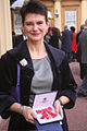 Diane Coyle gets OBE-27Feb2009.jpg