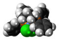 Dichloro(1,3-bis(diphenylphosphino)propane)nickel complex spacefill.png