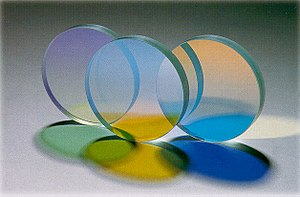 Transparency and translucency - Dichroic filters are created using optically transparent materials.