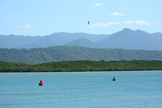 Queensland - Dickson's Inlet, Port Douglas, Queensland during the dry season
