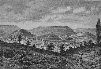 Veliko Tarnovo - Veliko Tarnovo in 1885