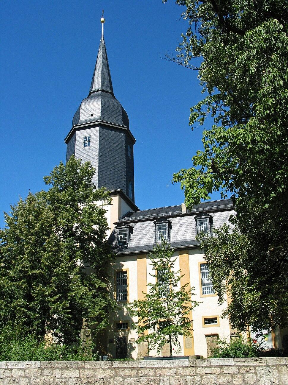 Die Jakobskirche in Weimar