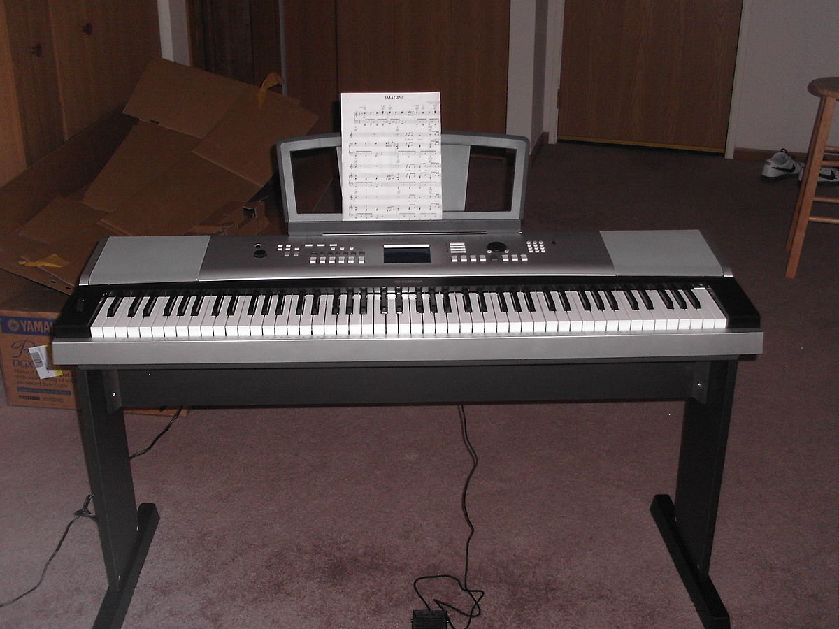Yamaha dgx 620 wikipedia for Yamaha piano keyboard models
