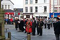 Dignitaries at the British Korean Veterans Associations Parade at Caernarfon - geograph.org.uk - 1554641.jpg