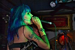 Dinah Cancer 45 Grave Blue Cafe Long Beach 4.jpg
