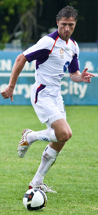 Dino Djulbic - Djulbic playing for Perth Glory