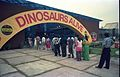 Dinosaurs Alive Exhibition - Science City - Calcutta 1995-June-July 501.JPG