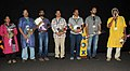 Director Gopinathan (Film Ithramaathram) with cast & crew addressing at the presentation of the film, at the 43rd International Film Festival of India (IFFI-2012), in Panaji, Goa on November 25, 2012.jpg