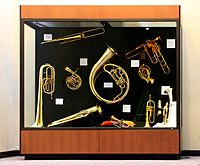 Display of the Stearns Collection of Musical Instruments University of Michigan (front1)