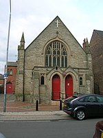 File:Disused Church, Trent Boulevard - geograph.org.uk - 1760543.jpg