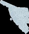 Divisaderos Sonora map.png