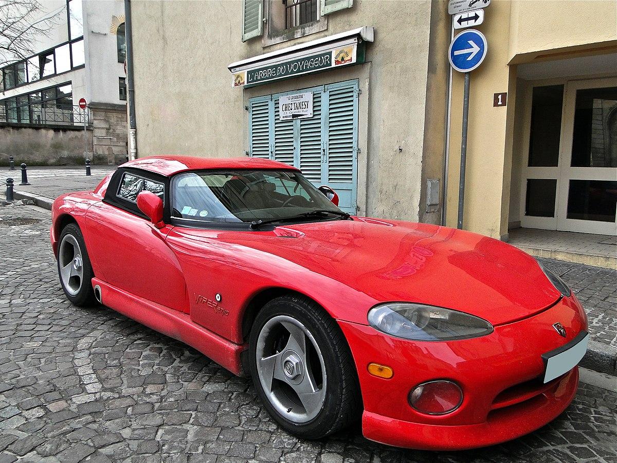 Dodge Viper (SR I) - Wikipedia
