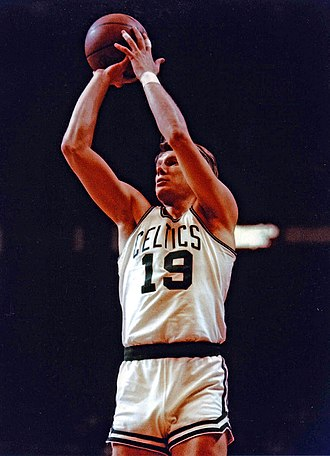 Don Nelson - Nelson with the Boston Celtics