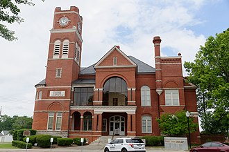 Dooly County Courthouse - Image: Dooly County Courthouse, Vienna, GA, US