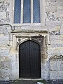 Door at the base - geograph.org.uk - 1653552.jpg