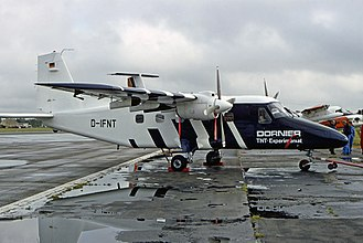 Dornier Do 228 - Experimental Do-28D modified with the Do-228 supercritical wing