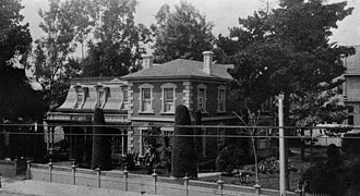John G. Downey - Downey's Los Angeles home, 1888.