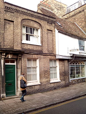 Pembroke Street, Cambridge - Downing Street toward Pembroke Street.