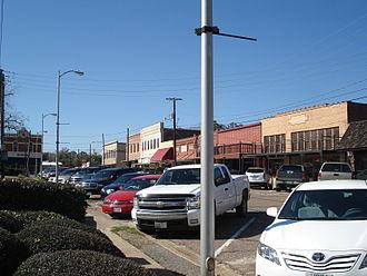 Jasper, Texas - Downtown Jasper from corner of Lamar and Zavalla