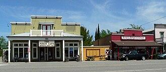 Santa Margarita, California - Downtown Santa Margarita, 2011