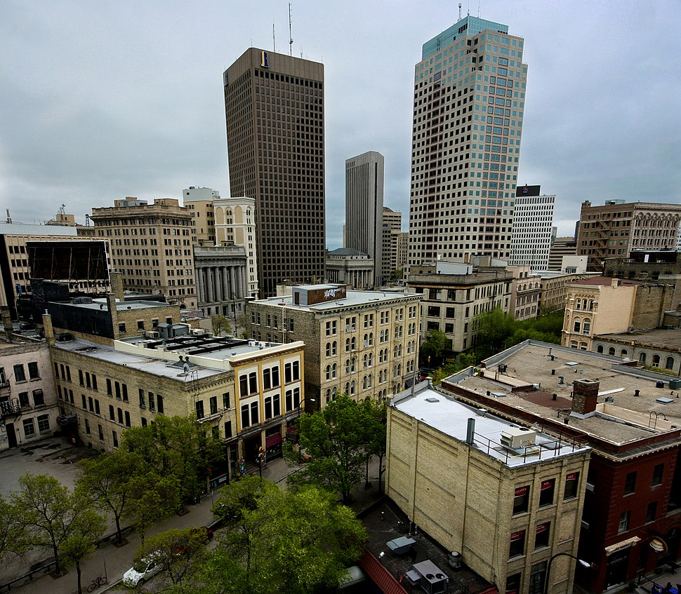 Downtown Winnipeg and the Exchange District, Manitoba, Canada - 20110530