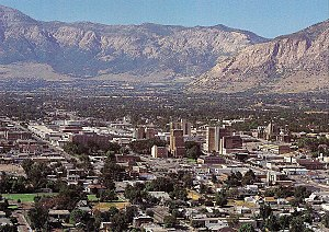 This is Downtown Ogden.