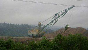 Chirmiri - Coal Drag Line