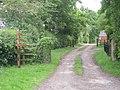 Driveway to Booden Farm - geograph.org.uk - 832747.jpg