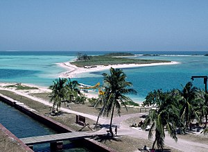 Dry Tortugas - A view at the Dry Tortugas