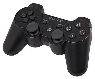 PlayStation 3 accessories - A DualShock 3 controller