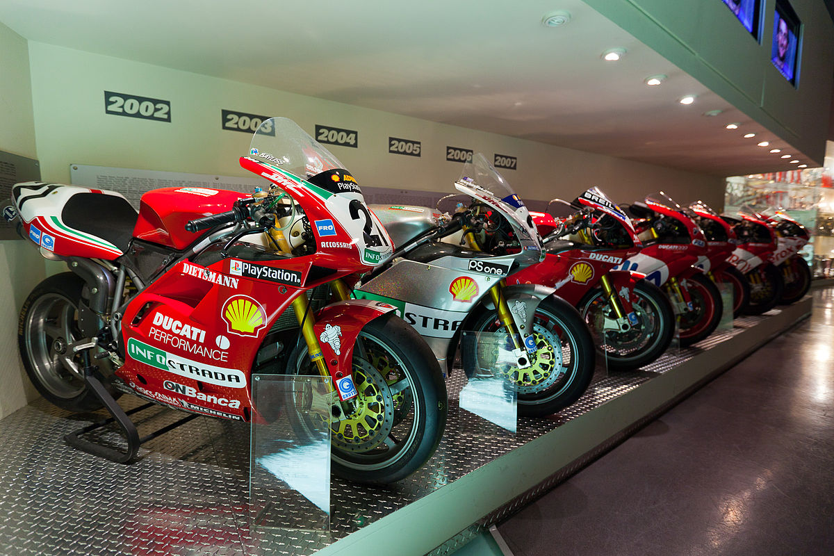 Ducati Factory And Museum Bologna