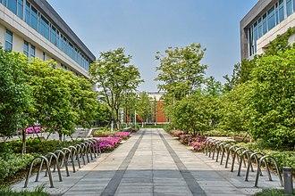 Duke Kunshan University - View of student and faculty housing