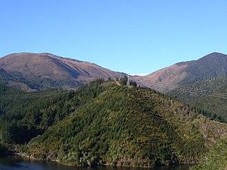 Dun Mountain-Maitai Terrane - View of Dun Mountain, name-giver to the terrane