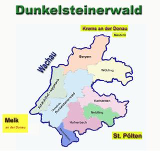 Dunkelsteinerwald mountain range