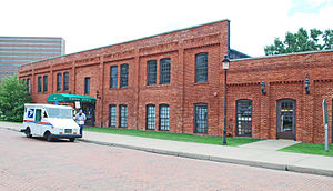 Durant-Dort Carriage Company - The Water Street factory leased by Durant and Dort in 1886