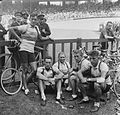 Dutch team at Parc des Princes, Tour de France 1952 (4).jpg