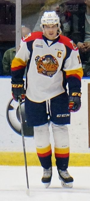 Dylan Strome - Image: Dylan Strome Erie Otters
