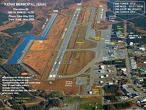 Kenai Municipal Airport - Image: ENA b
