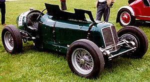 1948 British Grand Prix - Bob Gerard's car, ERA R14B, that he drove to third place
