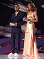 ESC 2008 - Presenters at the 1st semifinal.jpg