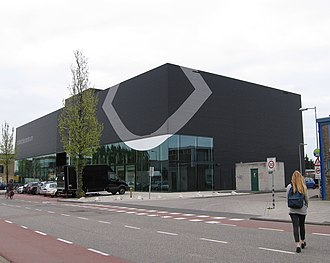 EYE Film Institute Netherlands - Collection building of EYE Film Institute Netherlands, Asterweg, Amsterdam.