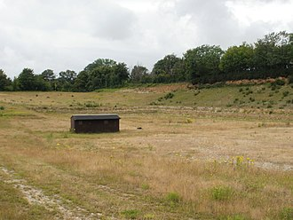 Eartham Pit, Boxgrove - One of the quarries at Eartham Pit.