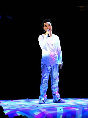 Eason Chan - Chan at his Get a Life concert in 2006