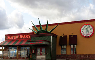 East Side Mario's - An East Side Mario's location in Moncton, New Brunswick