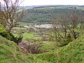 East Applegarth and Swaledale Caravan Park from Whitcliff Scar - geograph.org.uk - 435127.jpg