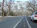 East on Center St from 700 E, Provo, UT, Feb 17.jpg