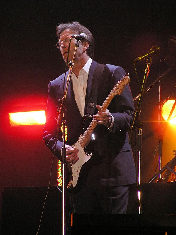Photo Eric Clapton via Wikidata