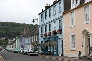 Kirkcudbright town and parish in Kirkcudbrightshire, Scotland